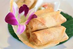 泰国汤姆薯类汤 图库摄影
