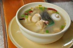 泰国汤姆Yum汤 免版税库存图片