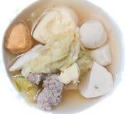 泰国汤的样式 图库摄影