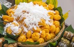 泰国沙漠-棕榈糖布丁 库存照片