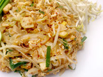 泰国泰国食物的垫,混乱与豆腐的油炸物面条在padthai样式 那个Thailands全国主菜 库存照片