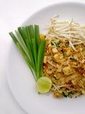 泰国泰国食物的垫,混乱与豆腐的油炸物面条在padthai样式 那个Thailands全国主菜 图库摄影