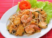 泰国泰国食物的垫 库存图片