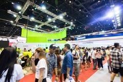 泰国流动商展2015陈列室最大的事件机动性在国家 免版税库存图片