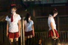 泰国流行音乐舞蹈家 图库摄影