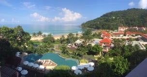 泰国海滩胜地 免版税图库摄影