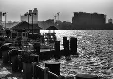 从泰国海滩-芭达亚的地方场面 免版税图库摄影