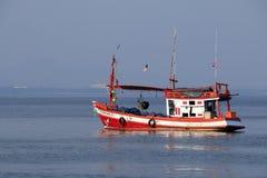 泰国渔船 免版税库存图片