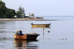 泰国渔船 免版税库存照片