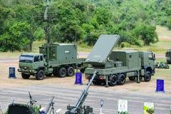泰国火炮军事 免版税库存照片