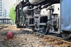 泰国火车停止  库存图片