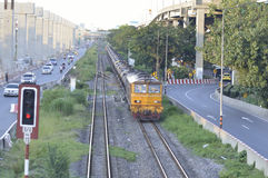 泰国火车 免版税库存图片