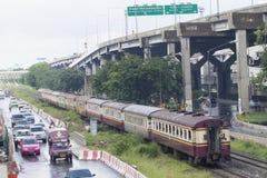 泰国火车 图库摄影