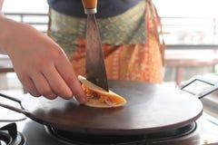 泰国炸玉米饼 免版税库存图片