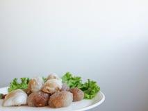 泰国点心和开胃菜 库存图片