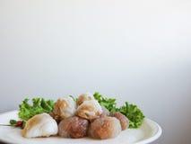 泰国点心和开胃菜 免版税图库摄影