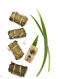 泰国点心现代称呼的食物 免版税图库摄影