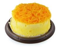 泰国点心, foy皮带蛋糕 免版税库存图片