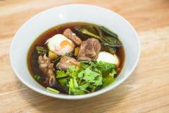 泰国烹调称` Palo `可口食物,甜口味 免版税库存照片