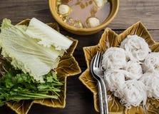 泰国烹调 免版税库存照片