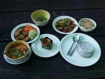 泰国烹饪课 图库摄影