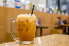 泰国牛奶茶 库存照片