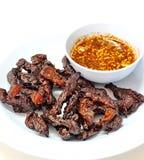 泰国牛肉干 库存照片