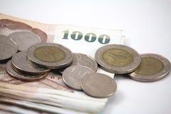 泰国现金 免版税库存照片