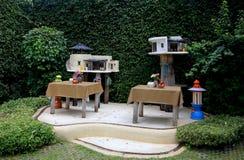 泰国现代精神房子 库存图片
