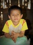 年轻泰国男孩 免版税图库摄影