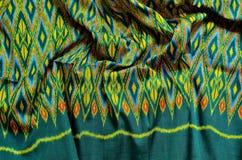 泰国的丝绸 免版税库存照片