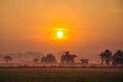 泰国的乡下 图库摄影