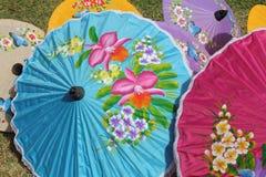 泰国的伞 库存照片