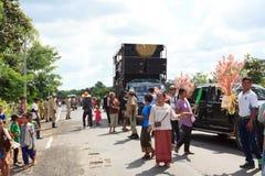 泰国的传统 库存图片