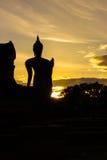 泰国的修士 免版税库存照片