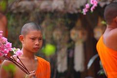 泰国的修士 图库摄影