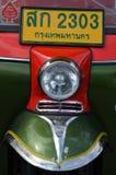从泰国的典型的Tuk Tuk摩托车出租汽车 免版税库存图片