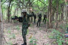 泰国的军队 库存图片