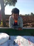 泰国的农夫 免版税库存照片