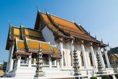 泰国的古庙 图库摄影
