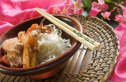 泰国的咖喱 免版税库存照片