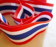 泰国的国旗 免版税库存图片