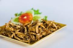 泰国的塑象蘑菇 库存图片