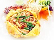 泰国的填充。 免版税库存图片
