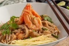 泰国的填充 面条称呼泰国 泰国的食物 库存图片