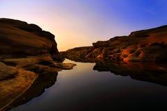 泰国的大峡谷 免版税库存照片