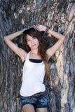 泰国的女孩 库存图片