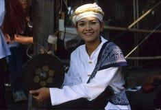 泰国的女孩 免版税库存照片