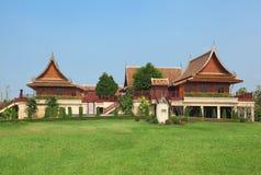 泰国的家庭风格 免版税库存照片