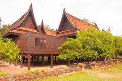 泰国的家庭风格 库存照片